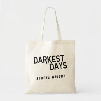 Dunkelste Tage durch Taschen-Taschen-Weiß Athene Tragetasche