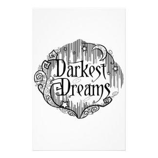 Dunkelste Träume Briefpapier