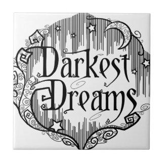 Dunkelste Träume Fliese