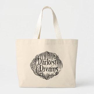 Dunkelste Träume Jumbo Stoffbeutel
