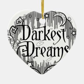 Dunkelste Träume Keramik Ornament