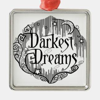 Dunkelste Träume Silbernes Ornament