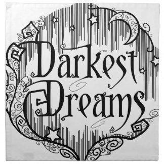 Dunkelste Träume Stoffserviette