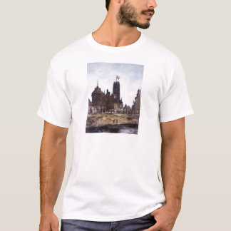 Dunkerque, Festival-Tag durch Eugene Boudin T-Shirt