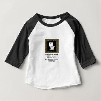 dunkle Badezimmerregeln Baby T-shirt