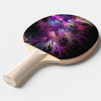 Dunkle Beleuchtung Tischtennis Schläger