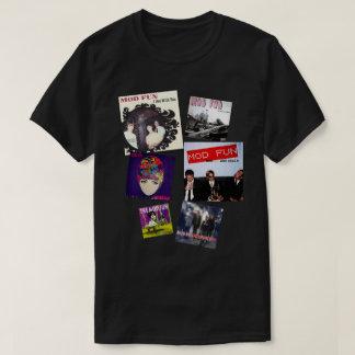 Dunkle Farbe DES MOD-SPASS T-Shirt