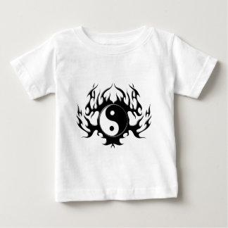 Dunkle Flamme Yin-Yang Baby T-shirt
