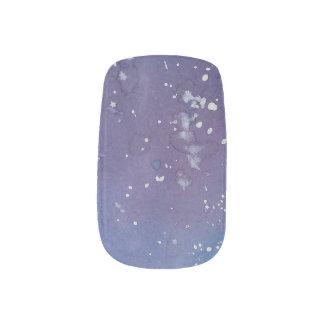 Dunkle Galaxie Minx Nagelkunst