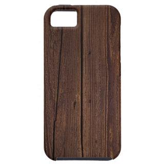 Dunkle Hartholznachahmung Hülle Fürs iPhone 5