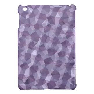 Dunkle Himbeerabstrakter niedriger iPad Mini Hülle