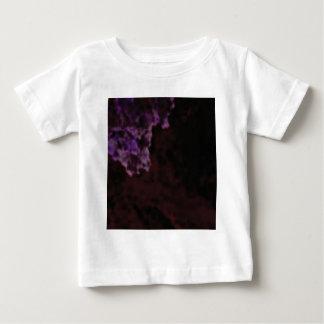 dunkle lila mysteriöse Beschaffenheit Baby T-shirt