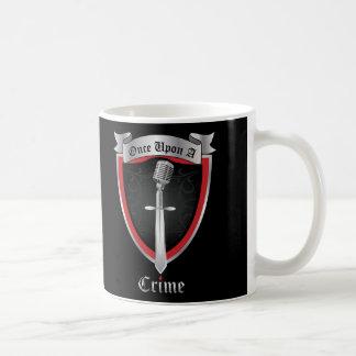 Dunkle Logo-Tasse Kaffeetasse
