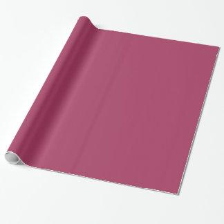 Dunkle rosa Farbe 1 Geschenkpapierrolle