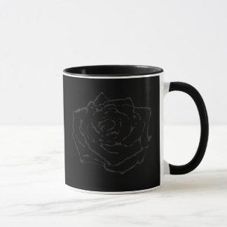 Dunkle Rose Tasse