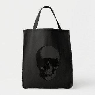 Dunkle Schädel-Taschen-Tasche Tragetasche