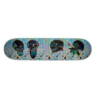 Dunkle Stadt 19,7 Cm Skateboard Deck