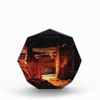 dunkle Steinschatten in Utah Acryl Auszeichnung