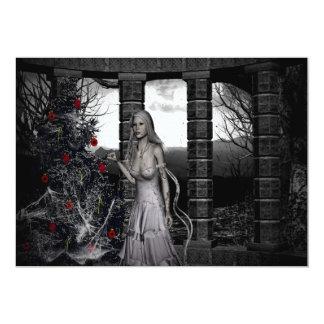 Dunkle WeihnachtsParty Einladung