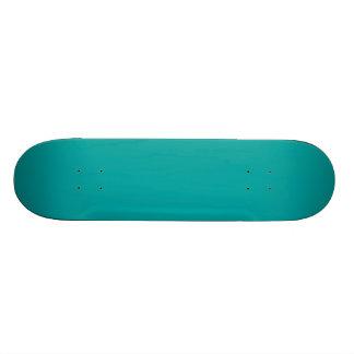 Dunkler Aqua-blaues Grün-Mode-FarbTrend fertigen Personalisierte Decks