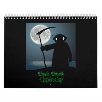 Dunkler Derek-Kalender Kalender
