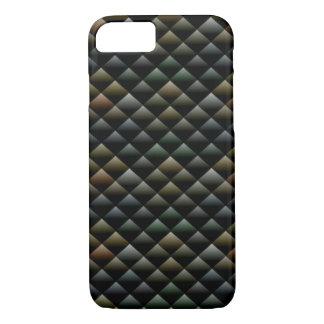 Dunkler geometrischer Beschaffenheits-Apple iPhone iPhone 8/7 Hülle