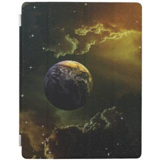 Dunkler Raum-Szene iPad Hülle