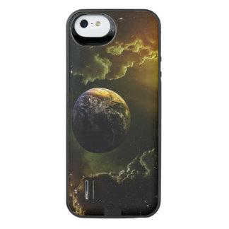 Dunkler Raum-Szene iPhone SE/5/5s Batterie Hülle