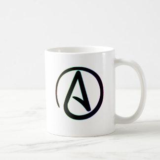 Dunkler Regenbogen-Atheist Tasse