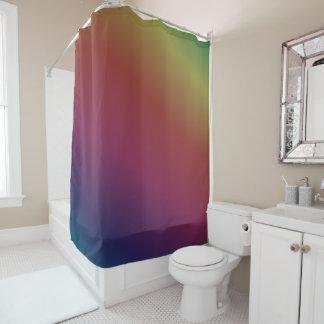 Dunkler Regenbogen-Krawatten-Duschvorhang Duschvorhang
