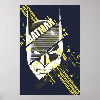 Dunkler Ritter Batmans futuristisch Posterdruck