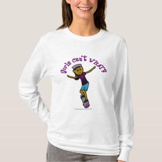 Dunkler Skateboardfahrer T-Shirt