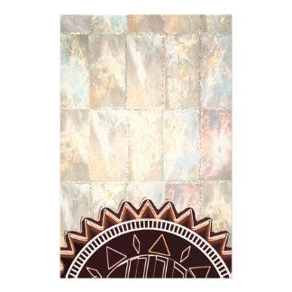 Dunkler TAN-Schokoladensplitter: CHAKRA Briefpapier