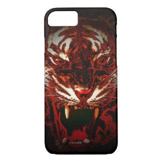 Dunkler Tiger-Telefonkasten iPhone 8/7 Hülle