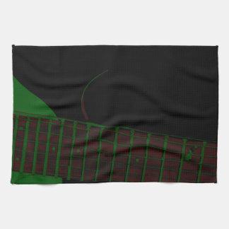 Dunkler Verein-Hintergrund Handtuch