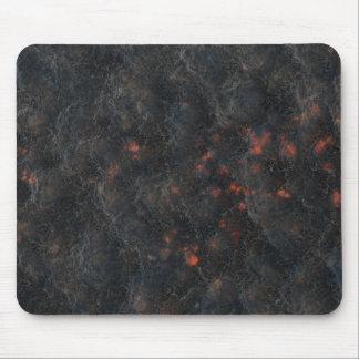 Dunkler vulkanische mousepad