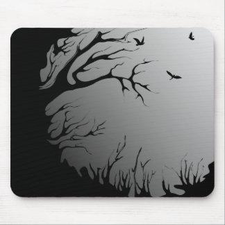dunkler Wald Mauspads