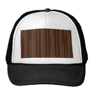 Dunkles Brown-Zaun-Zaun Retrokultkappe