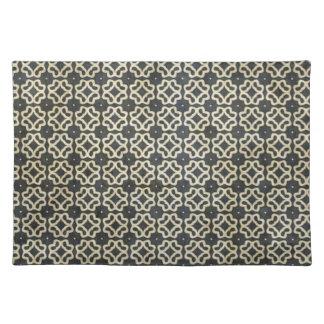 Dunkles gotisches Muster Tischsets
