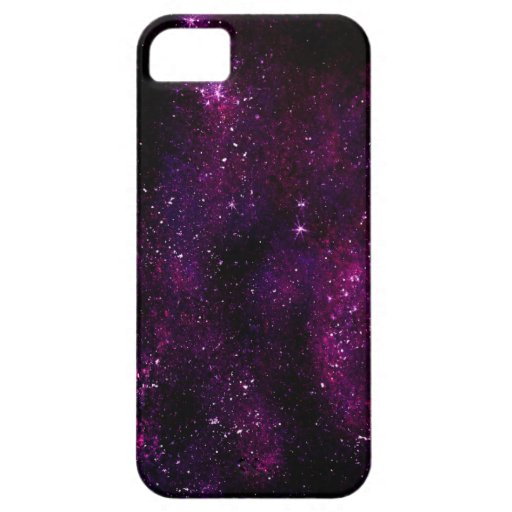 Dunkles Hipster-Galaxie-Universum iPhone 5 Cover