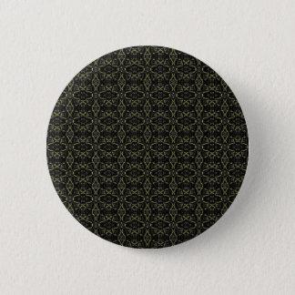 Dunkles Interalce Stammes- Runder Button 5,7 Cm