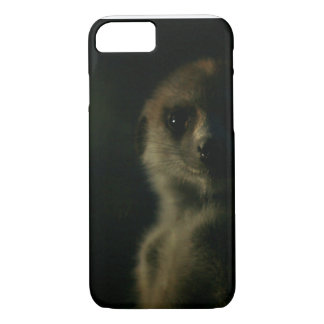 Dunkles meerkat - iPhone 7 Fall iPhone 8/7 Hülle