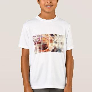 Dunkles Netz-Internet als Technologie-Konzept T-Shirt