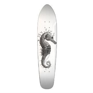 Dunkles Pferd 18,4 Cm Mini Skateboard Deck