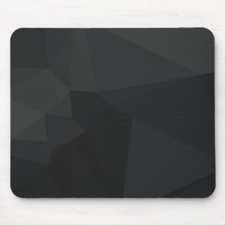 Dunkles polygonales Muster Mousepad