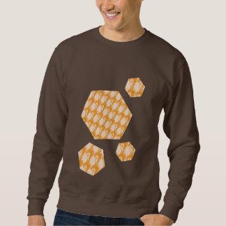 Dunkles Schokoladensweatshirt mit coolem Entwurf Sweatshirt