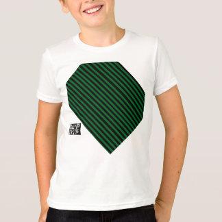 DUNKLES SCHWARZ-GRÜNE LINIE LAVKNOCHOCOM T-Shirt