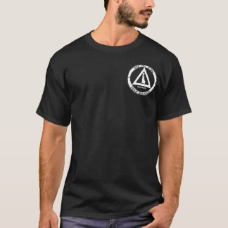 dunkles T-Stück des Logo-302BJJ T-Shirt