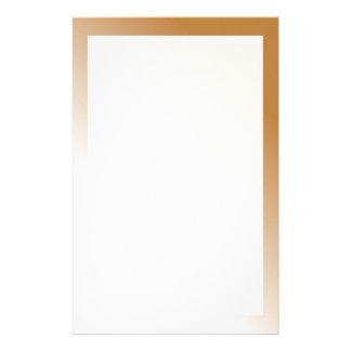 Dunkles TAN-Weiß Ombre Individuelles Druckpapier