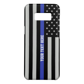 Dünne blaue Linie - amerikanische Case-Mate Samsung Galaxy S8 Hülle